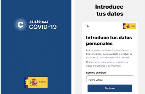app covid España