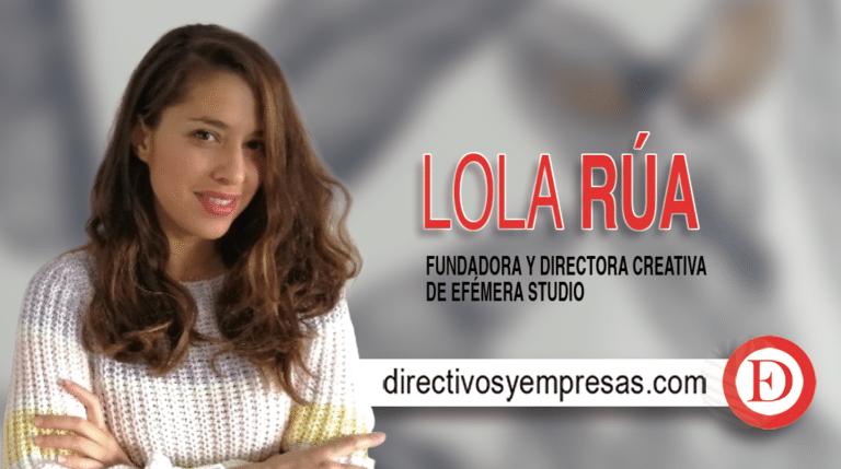 Lola Rúa diseña mamparas para el sector horeca.
