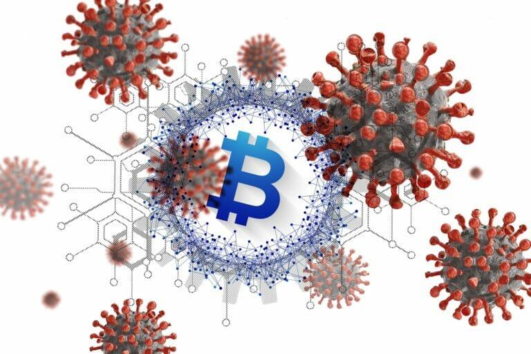 coronavirus y bitcoin