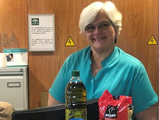enfermera-banco-alimentos