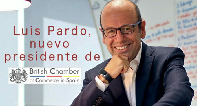 Luis Pardo, nuevo presidente de la Cámara de Comercio Británica en España