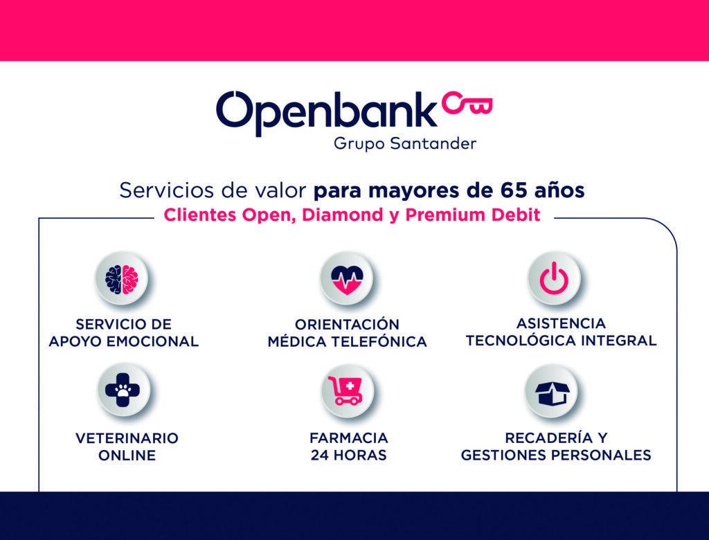Servicios multiasistencia de Openbank para los mayores