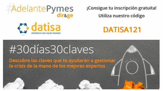 #AdelantePymes-Datisa-formación-digital