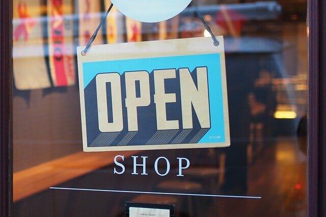 apertura de tiendas tras el covid
