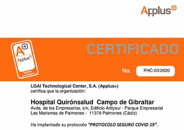 CERTIFICADO-Applus+-seguridad-hospital-Campo-de-Gibraltar