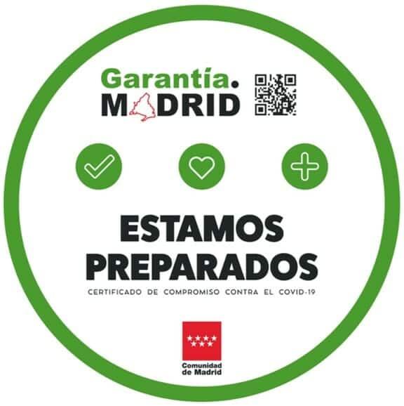 Certificado Garantía Madrid de Madrid Excelente