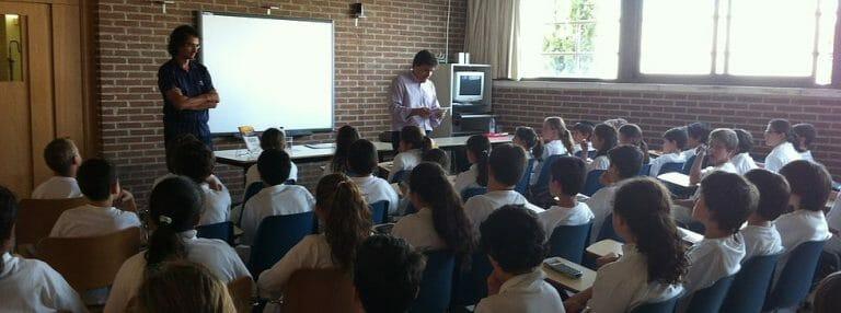 colegio júdio Ibn Gabirol en Madrid