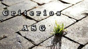 Criterios-ASG
