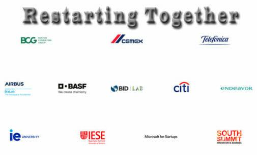 Restarting Together: grandes marcas se unen para la recuperación económica global