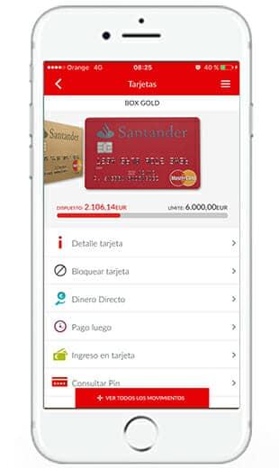 santander app