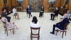 Empresas nacidas en el South Summit son recibidas por la Casa Real