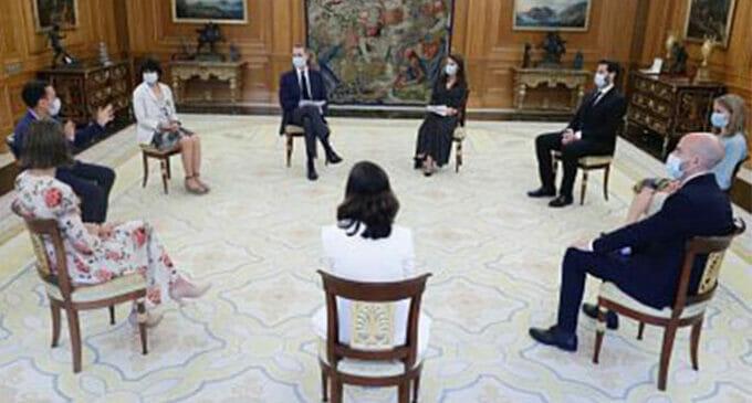 Startaperos clave del South Summit son recibidos por la Casa Real