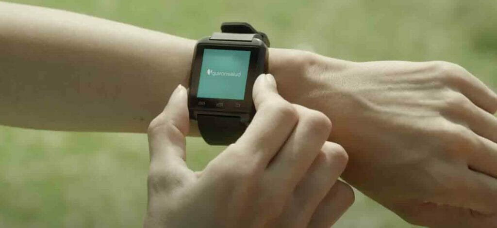 tecnología wearable y Quirónsalud.