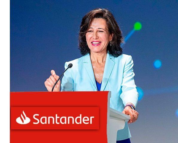 Ana Botín, presidenta Banco Santander.
