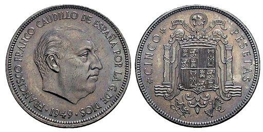pesetas 1949