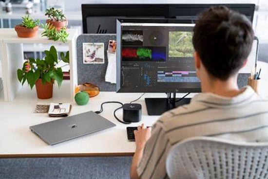 técnico-de-Mediapro-trabajando-en-remoto
