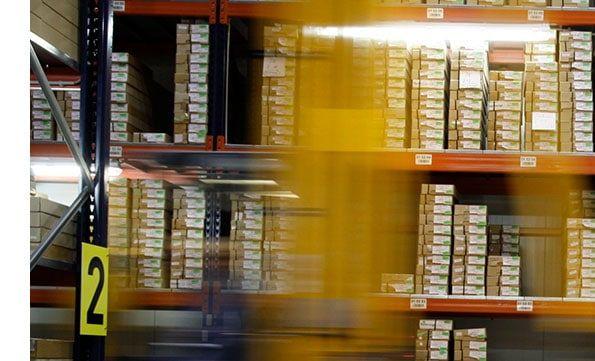 El método JIT aplicado en un almacén.