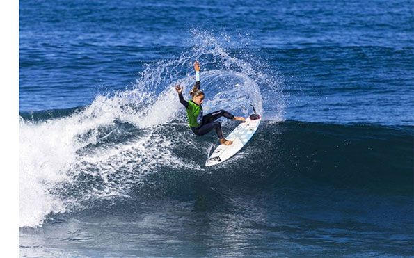 Surf femenino patrocinado por Iberdrola