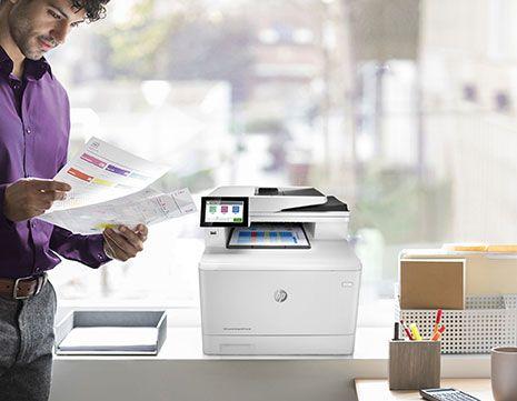 impresora-HP-en-una-empresa