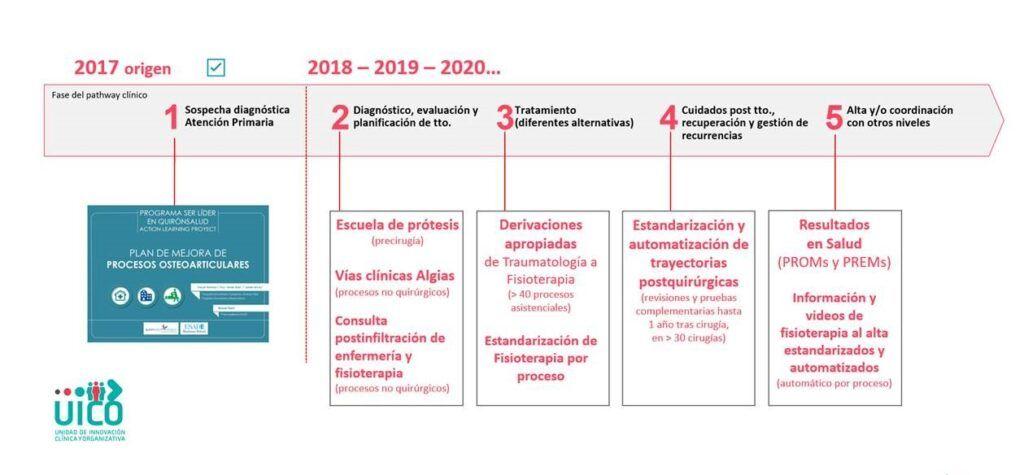 Principales líneas de desarrollo del proyecto APLO, Nuevo modelo asistencial en Aparato Locomotor