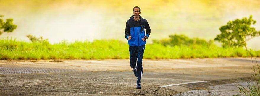 correr a mediodía