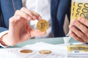 euros bitcoins