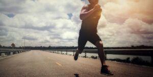 correr forma parte de una prueba de triatlón