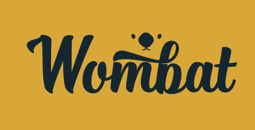 The Wombat Company logo