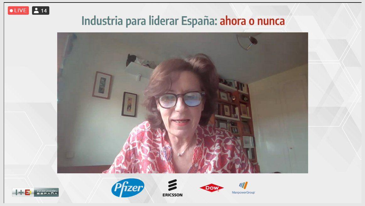 helena herrero presidenta de la Fundación I+E