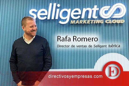 Rafa Romero - director de ventas de Selligent Ibérica, compañía perteneciente a la familia de marcas tecnológicas de CM Group
