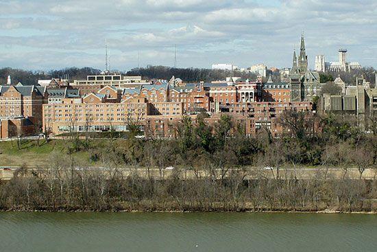 campus de la Universidad-de-Georgetown