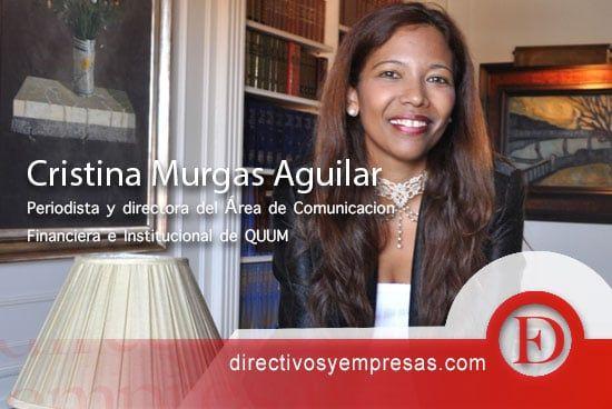 Cristina Murgas habla de criptoeconomía en España