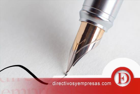 El directivo y la pluma estilográfica