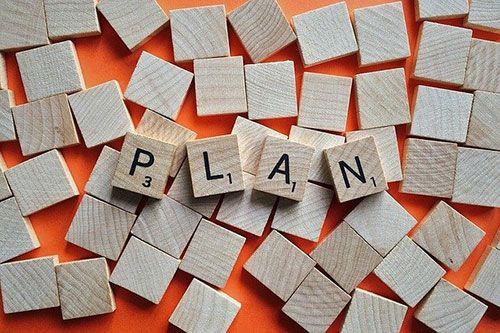 Establecer un plan para cambiar nuestra vida