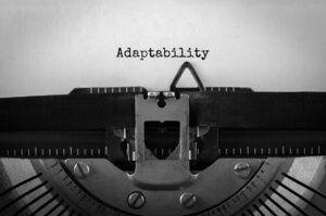 virtud de adaptación a la recesión Covid
