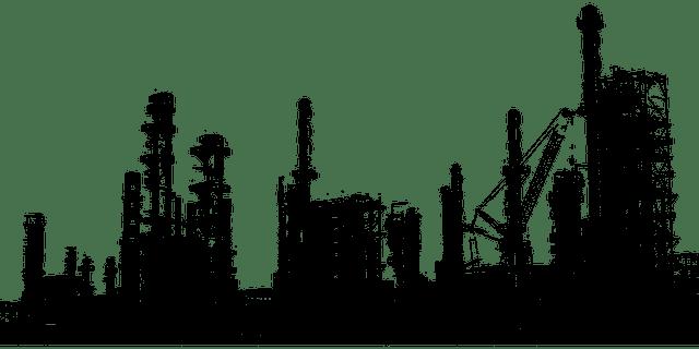 refinería de petroleo