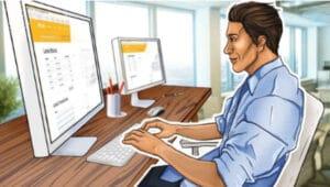 trabajar en el ordenador
