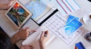 planificación de viajes turísticos