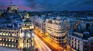 modelo turístico de Madrid