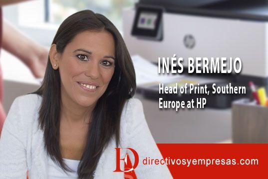 Inés Bermejo, Directora del Negocio de Impresión de HP para el Sur de Europa