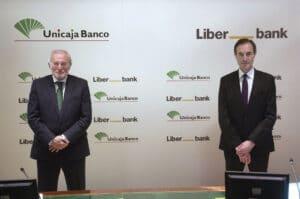 líderes de la fusión entre Unicaja Banco y Liberbank