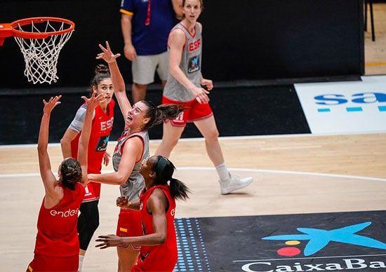 preparación de España para el Eurobasket 2021
