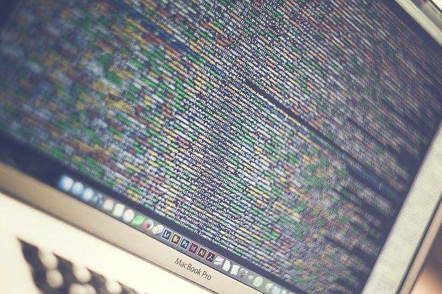 información en código