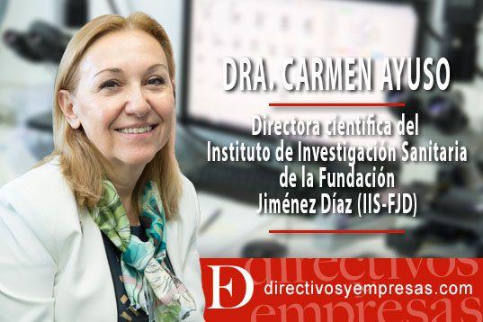 """Para la Doctora Carmen Ayuso """"la pandemia ha estimulado la necesidad de investigar"""""""