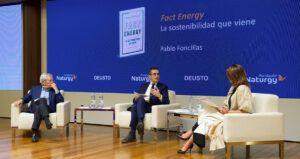 presentación de Fact Energy, la sostenibilidad que viene (Deusto)