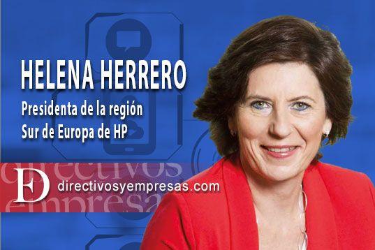Helena Herrero, presidenta de HP para el Sur de Europa